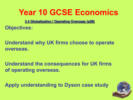 Year 10 GCSE Economics - BSAK Weebly