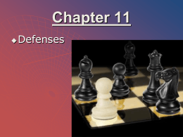 11. Defenses