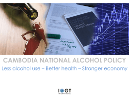 Alcohol Policy Cambodia - ED KeyNote (1)