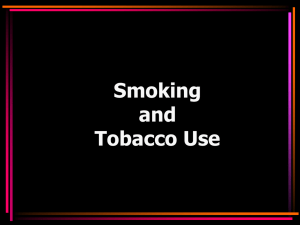 Smoking and Tobacco Use_1