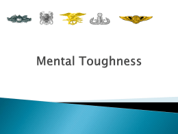 Mental Toughness 1