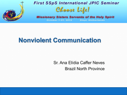 on Non-violent Communication (click here)
