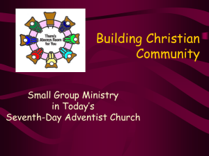 Small Groups 7 PowerPoint