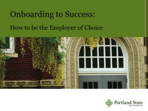 Onboarding to Success