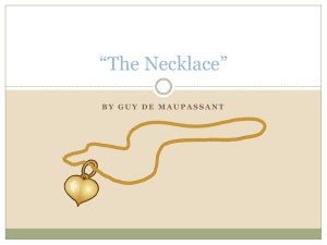 """The Necklace"""