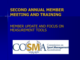 Focus on Measurement Tools