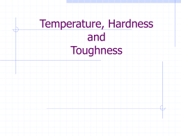 Temperature Effects and Surface Properties