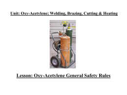 Oxy-Fuel Safety-PPT