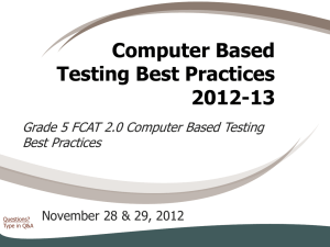 Best Practices Computer Based