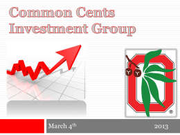 March 4th — Berkshire Hathaway - Common Cents Investment Group