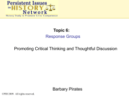 SU09_BarbaryPirates_.. - Persistent Issues in History