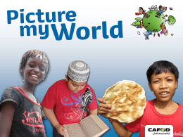 Introducing Picture My World