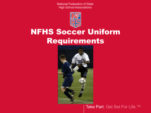 Shinguard Requirements PowerPoint - National Federation of State