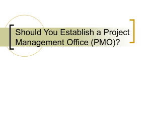 Should You Establish a Project Management Office or Not?