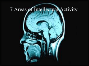 AB 5 - 7 Areas of Intellectual Activity