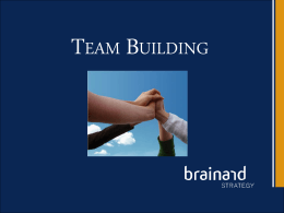 """team"". - Brainard Strategy"