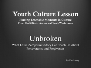 Youth Culture Lesson Finding Teachable Moments in Culture From