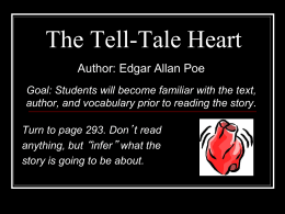 """The Tell-Tale Heart"" PPT"