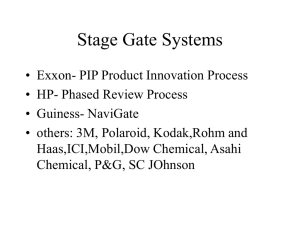 Stage_Gate_Processes - Gatton College of Business and Economics