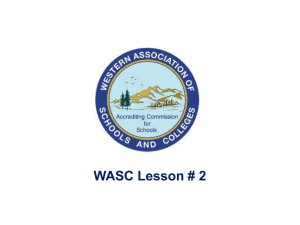 What is WASC?