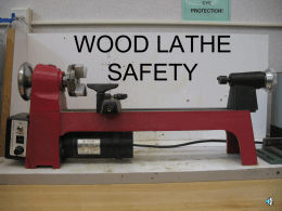 lathe safety powerpoint