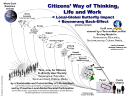 the Diagram Citizens` Local-Global