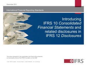 IFRS 10, 12