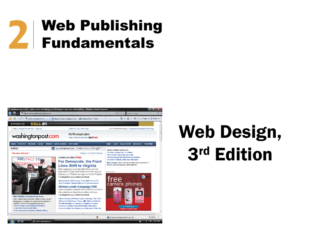 Web Design Chapter 2 Notes