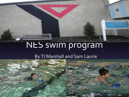 NES Swim Program PowerPoint