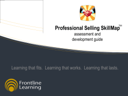 PPT Slides - Frontline Learning PSS Webcast