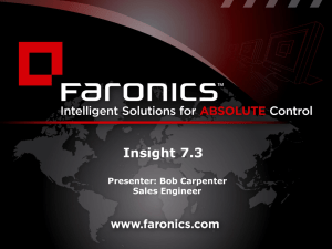 Faronics Insight - infotech