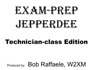 Exam Prep Jepperdee Technician 2010-Level 1