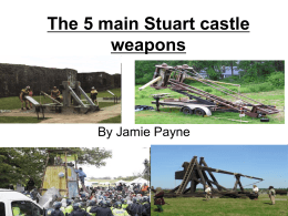 Siege weapons powerpoint