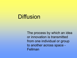 Relocation Diffusion
