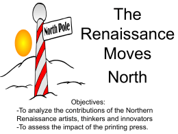 The Renaissance Spreads North