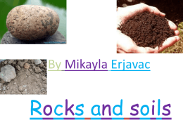 Rocks and soils - St Helens Park Public School