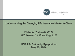 Understanding The Changing Middle Market for Life Insurance in