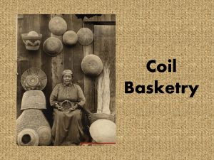 Coil Baskets and Pottery powerpoint
