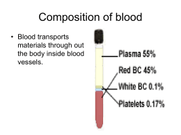 Blood- Powerpoint