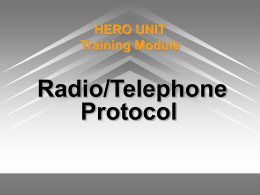 HERO UNIT Training Module