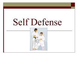 Self Defense Power Point 06