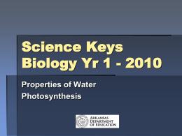 SCI-Keys Biology-Module 1