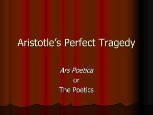 Aristotle`s Perfect Tragedy