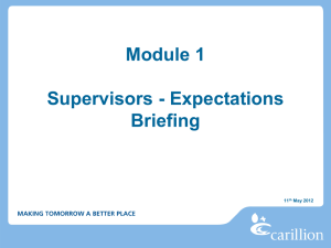 Form 37 16 Module 1 Supervisor Induction