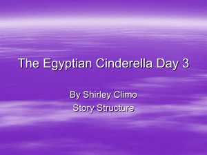 The Egyptian Cinderella Day 3 - Geary County Schools USD 475