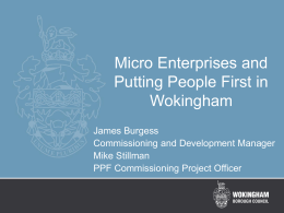 Micro Enterprise Development (ppt - 393Kb)