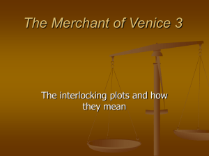 The Merchant of Venice 3 - English Department UCSB