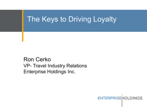 The Keys to Driving Loyalty