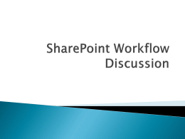 SharePointWorkflowDiscussion