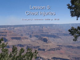 Lesson 6: Chest I - Bsa